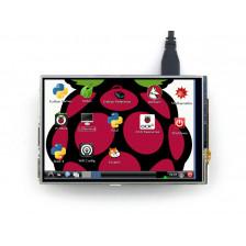 "Дисплей сенсорный IPS Waveshare 4"" для Raspberry Pi"
