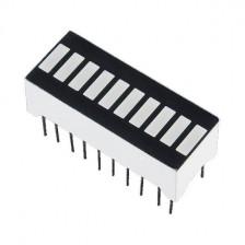 10-сегментный LED дисплей-гистограмма (зеленый)