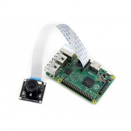 Широкоугольная камера для Raspberry Pi от Waveshare