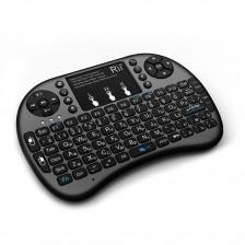 Беспроводная клавиатура Rii mini i8+ черная