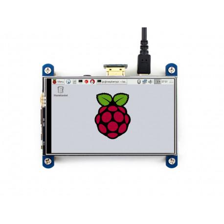 "4"" IPS дисплей сенсорный Waveshare для Raspberry Pi"