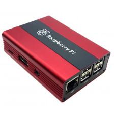 Металлический корпус Eleduino для Raspberry Pi wine red