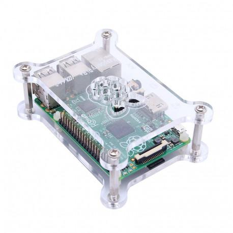 Акриловый корпус для Raspberry Pi со стойками