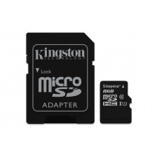 Карта памяти MicroSD Kingston 8/16/32/64 GB 10 class