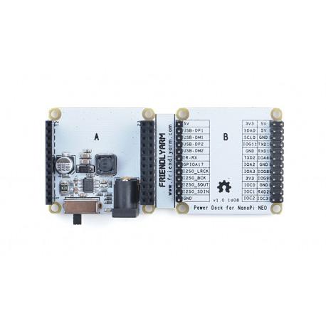 Плата расширения Power Dock для NanoPi NEO series