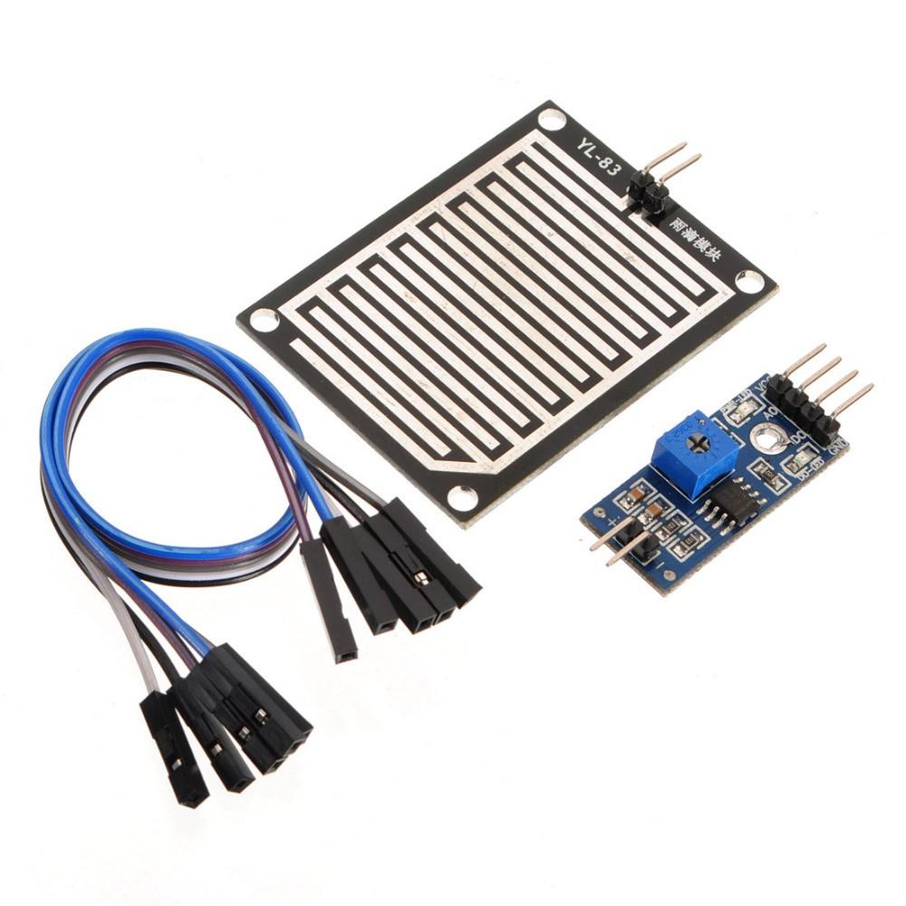 5PCS Raindrops Detection sensor modue rain weather