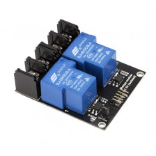 2-канальный модуль реле 5V 30A RobotDyn