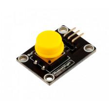 Модуль кнопки RobotDyn (желтый)