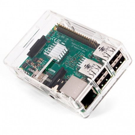 Прозрачный корпус для Raspberry Pi 3