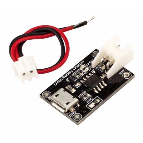 MicroUSB ЗУ Li-Ion аккумуляторов TP4056 RobotDyn