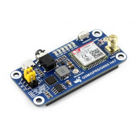 Плата расширения GSM/GPRS/GNSS/Bluetooth для RPi