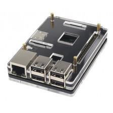 Наборной черный корпус для Raspberry Pi 3B/2B/B+