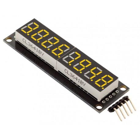 8-значный 7-сегментный LED дисплей RobotDyn