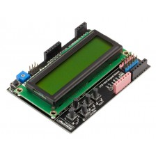 Плата расширения LCD 1602 + keypad RobotDyn (кириллица)