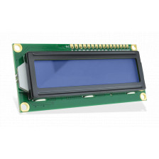 Дисплей LCD1602 3.3V (Blue / Yellow Backlight)