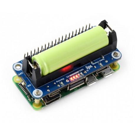 Li-ion Battery HAT для Raspberry Pi