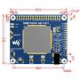 4G/3G/2G/GSM/GPRS/GNSS HAT для Raspberry Pi