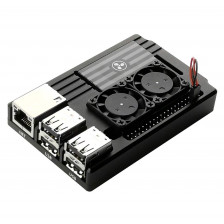 Металлический корпус для Raspberry Pi с охлаждением eleduino