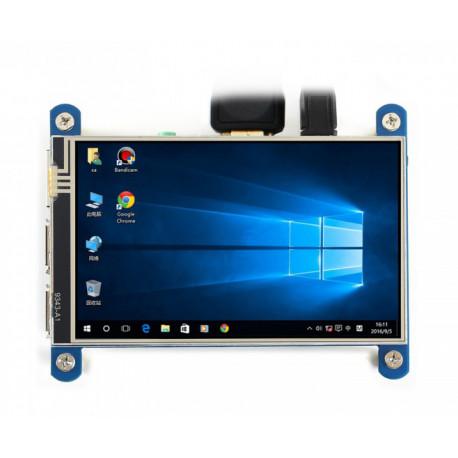 """4"""" IPS HDMI дисплей сенсорный Waveshare (H)"""