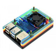 Цветной корпус с кулером для Raspberry Pi 4