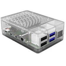 Корпус для Raspberry Pi 4 с охлаждением 52pi transparent