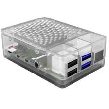 Корпус для Raspberry Pi 4 с охлаждением 52pi transparent