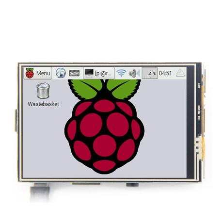"""3.5"""" дисплей сенсорный для Raspberry Pi"""