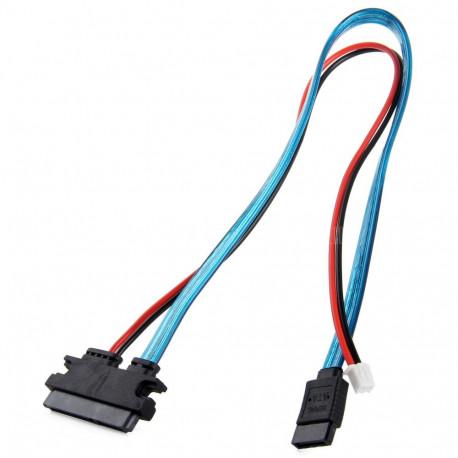 SATA кабель с питанием