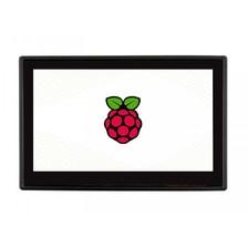4.3' Дисплей сенсорный с корпусом WaveShare для Raspberry Pi