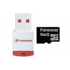 Карта памяти MicroSD Transcend 16 GB 10 class