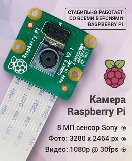 Raspberry Pi камера